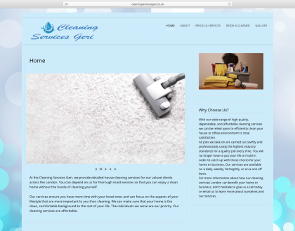 Cleaning Services Geri
