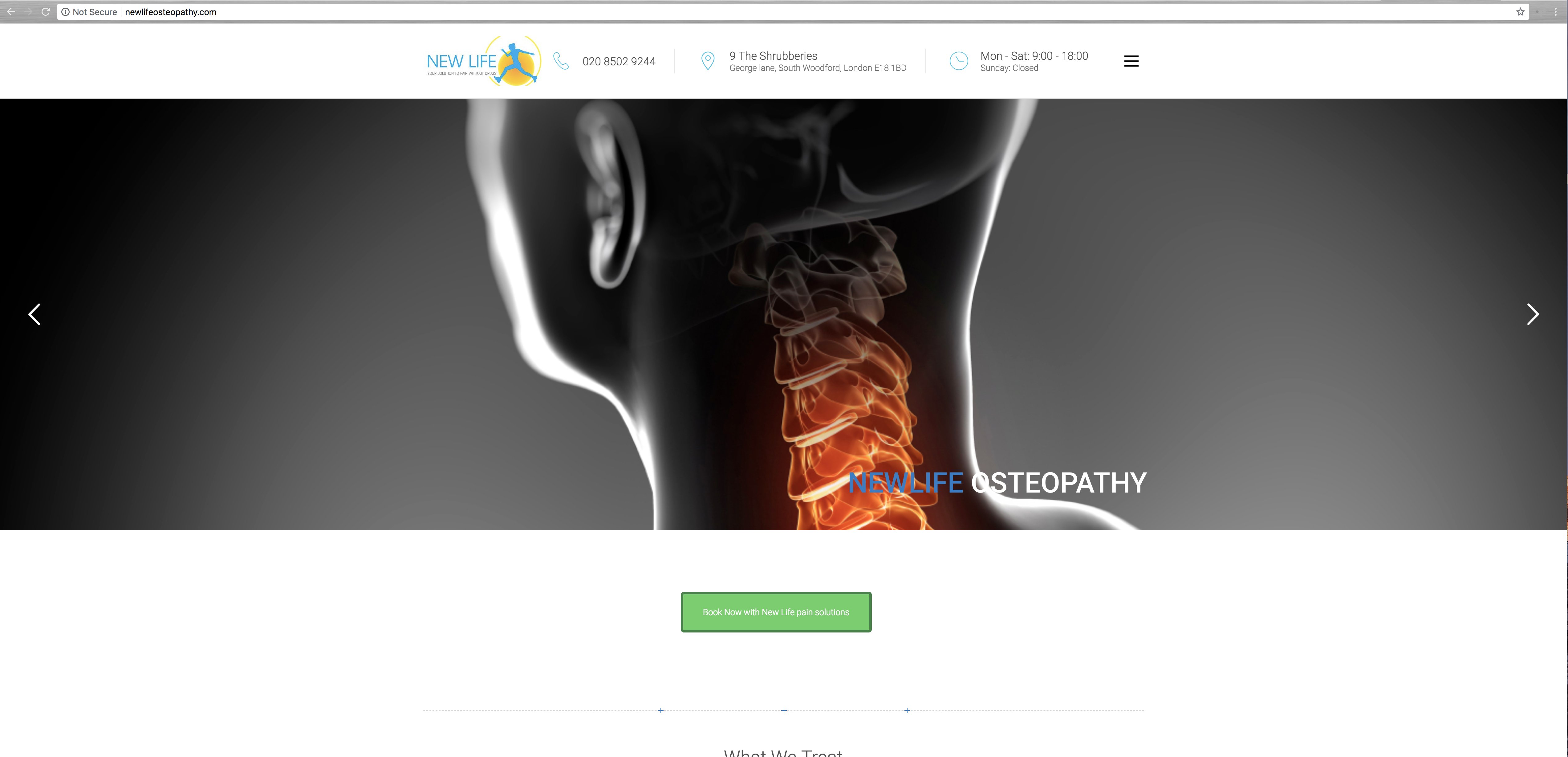 New Life Osteopathy