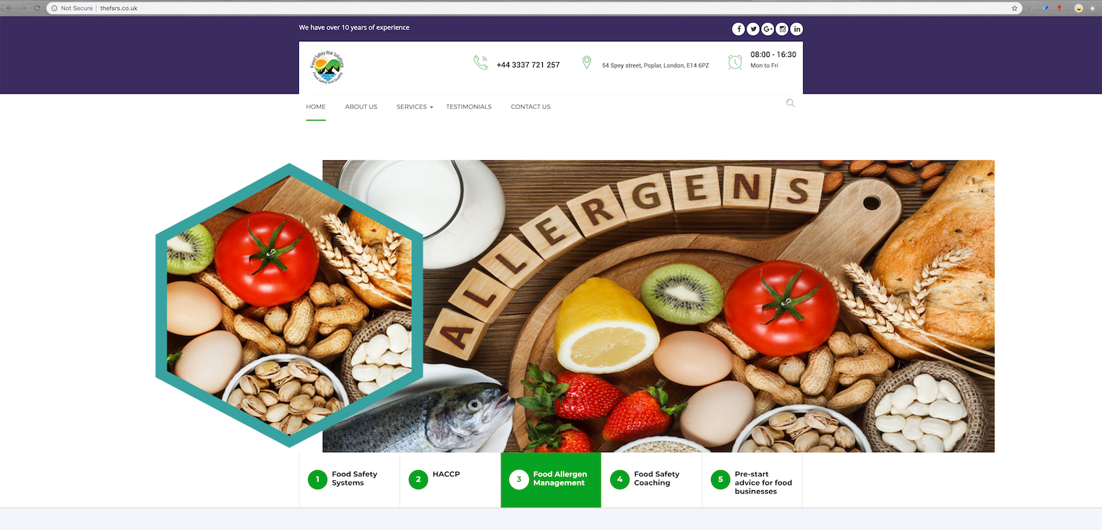 Food Safety Risks Solutions