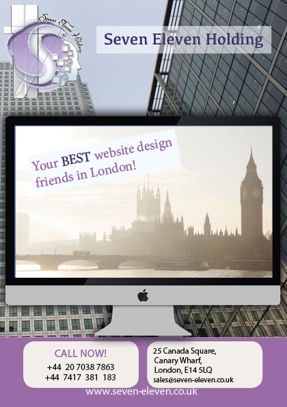 Your BEST website design company in London