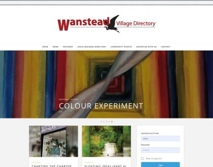 Wanstead Village Directory is live